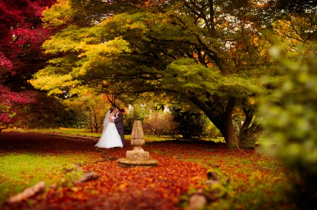 Claire and Brendan's Autumn wedding at the Miskin Manor Cardiff