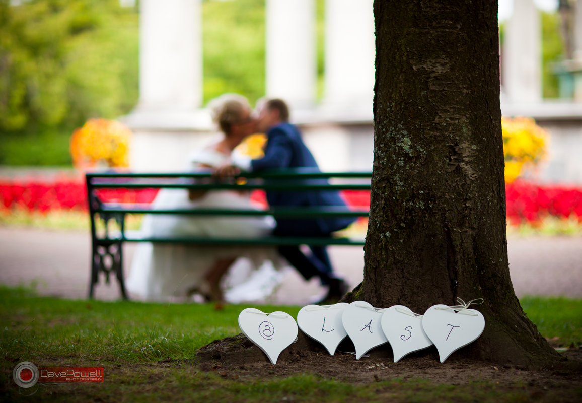 Using Depth of Field for wedding photography