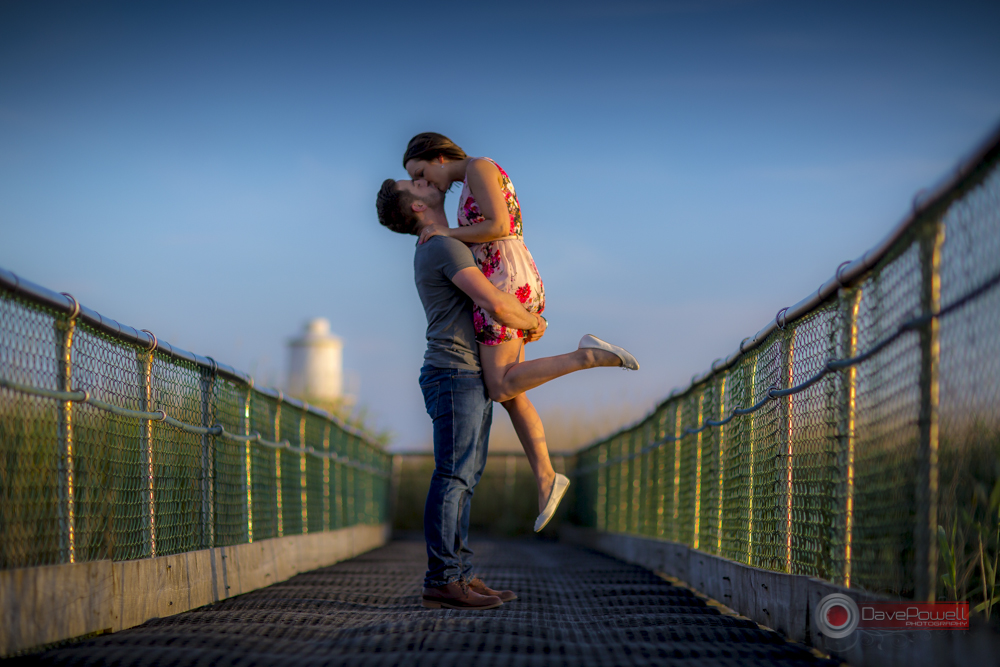 Mike and Stacey pre-wedding photography. Newport Wetlands.
